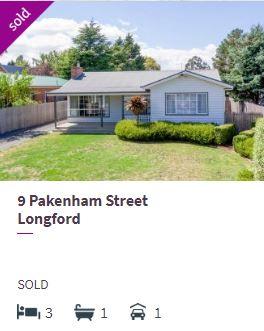 Real estate appraisal Longford TAS 7301